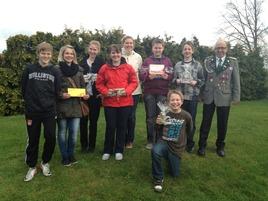 Die Gewinner des Jugendpokal 2012